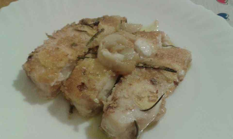 Ricetta: Filetto di pesce persico al forno