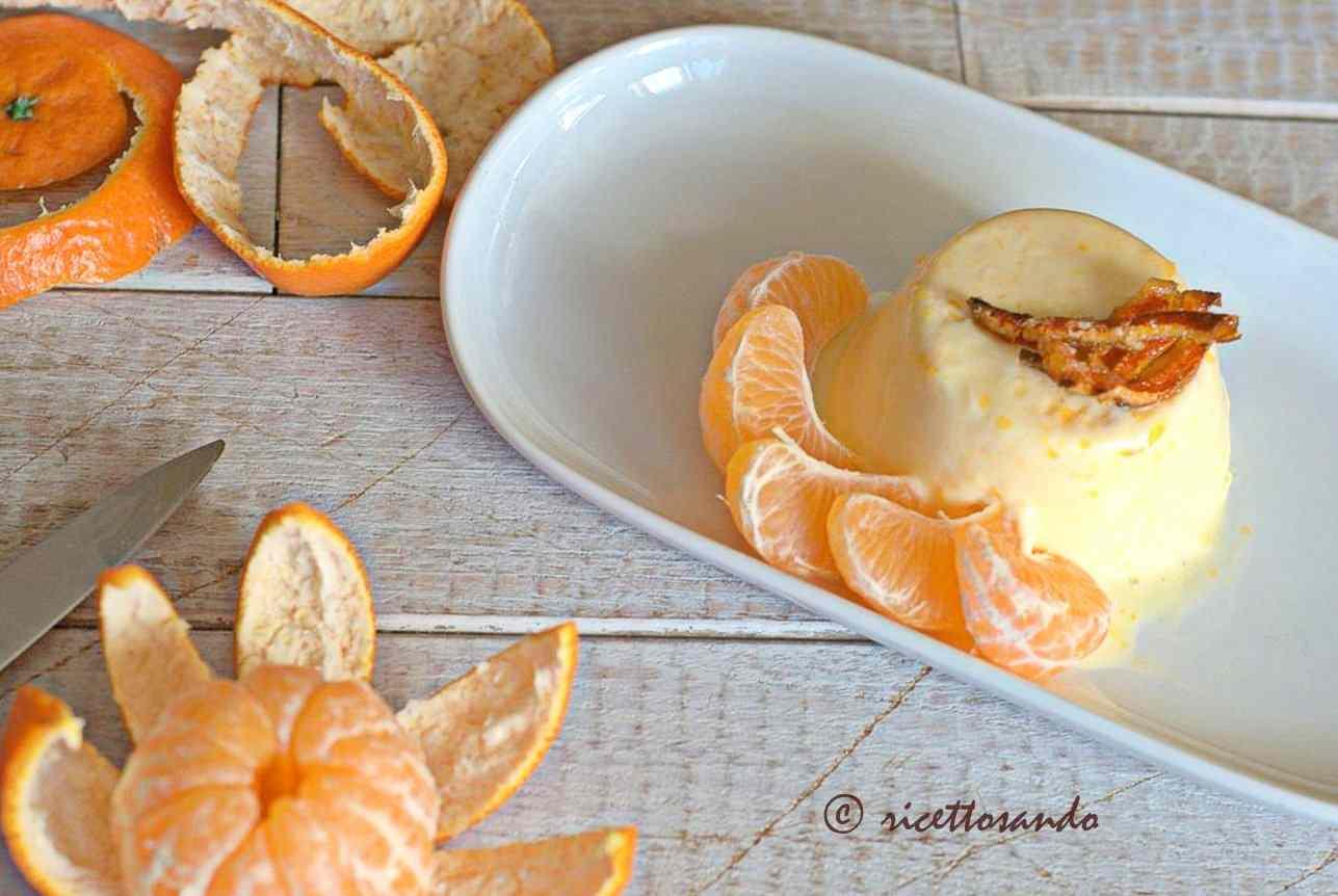 Ricetta: Bavarese al mandarino