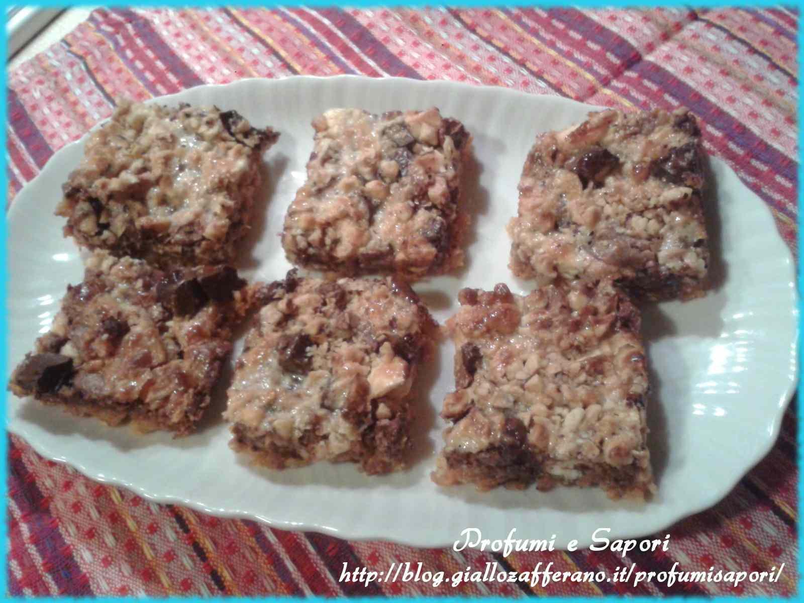 Ricetta: Biscotti al triplo cioccolato