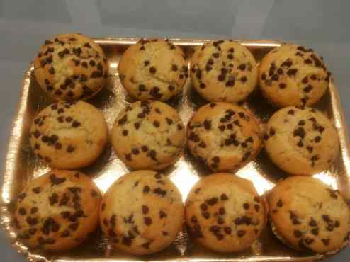 Ricetta: Muffin con gocce di cioccolato