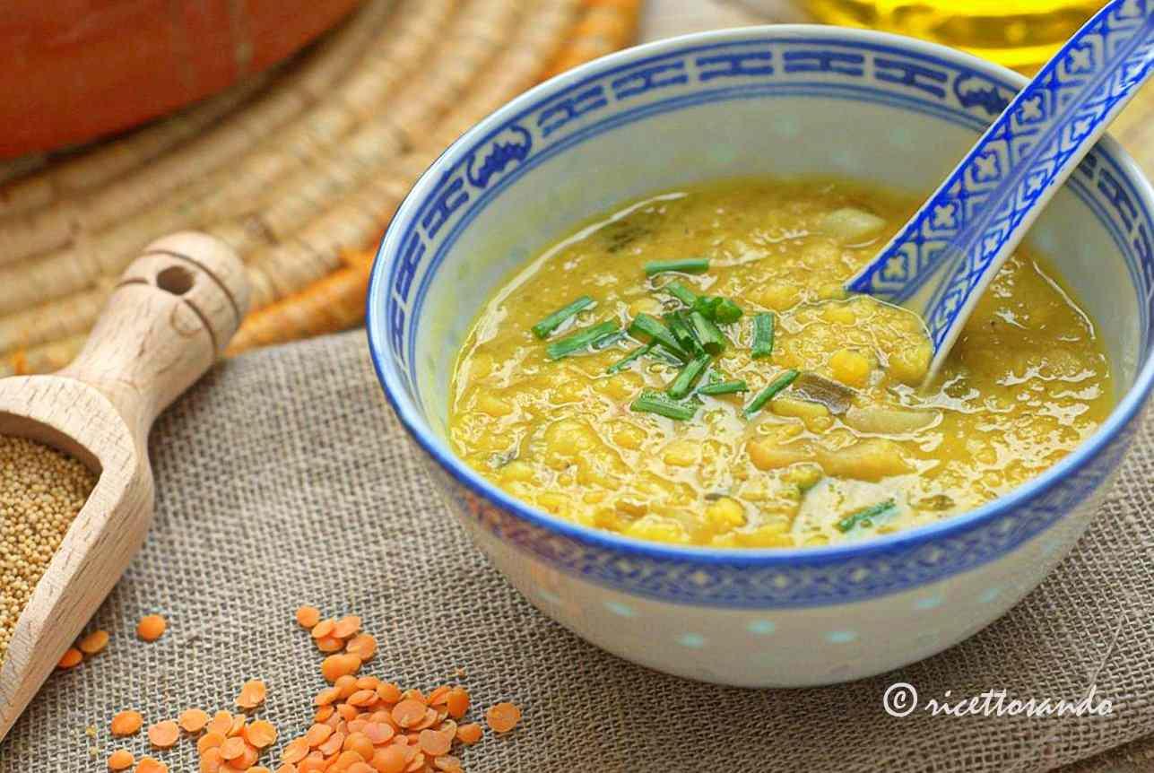 Ricetta: Zuppa di lenticchie e amaranto
