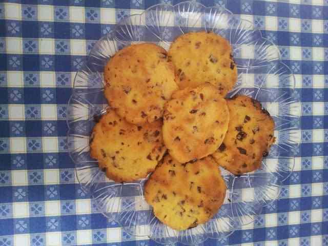 Ricetta: Cookies mirtilli e cioccolato