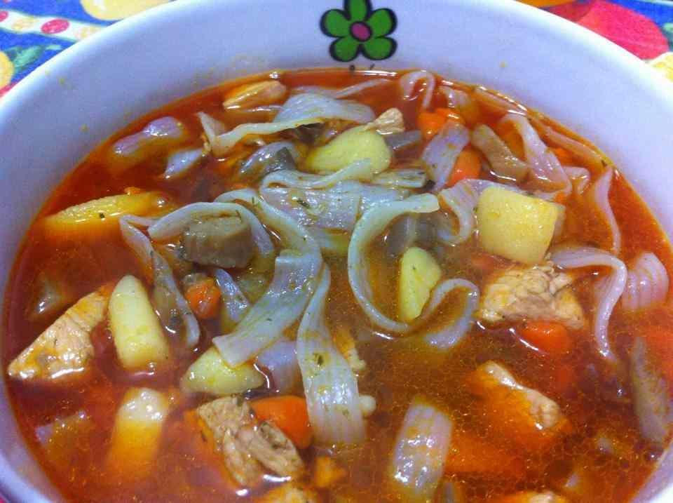 Ricetta: Zuppa orientale con noodles di riso