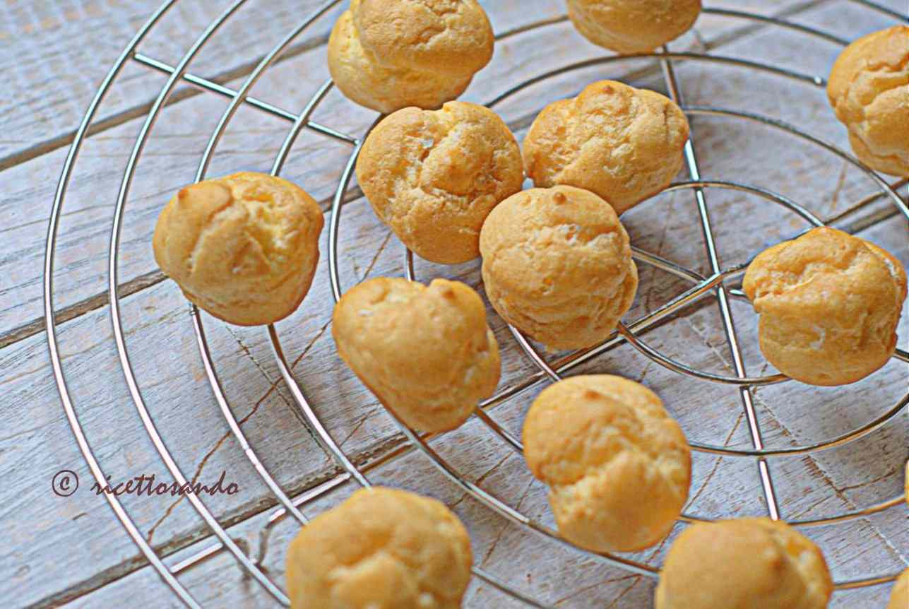 Ricetta: Pasta choux o base per bigne