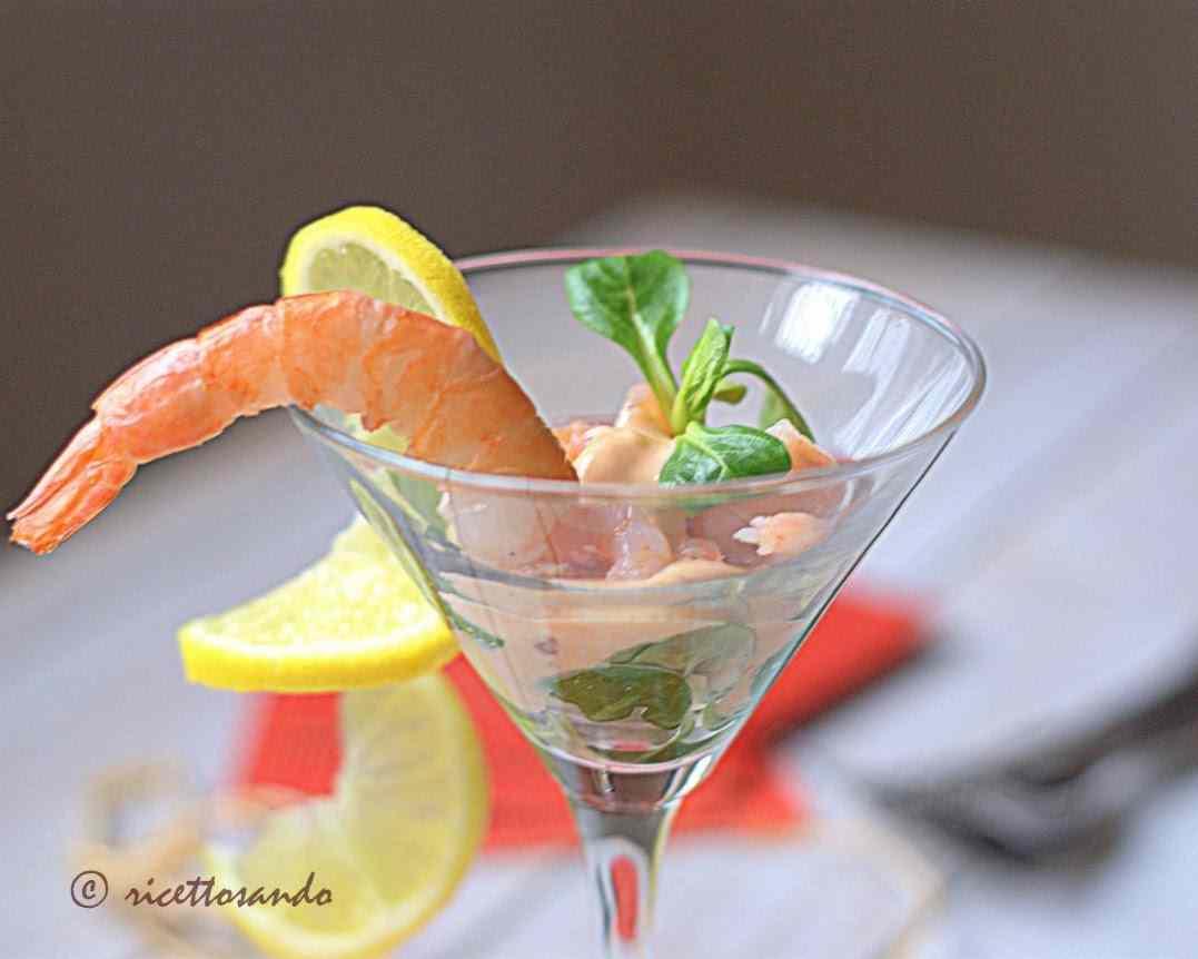 Ricetta: Cocktail di gamberetti in salsa rosa allo yogurt