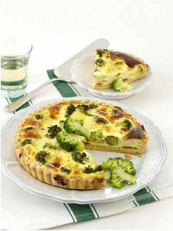 Quiche broccoli e prosciutto