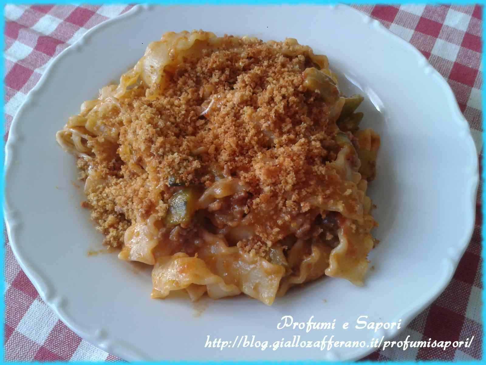 Ricetta: Reginette alla parmigiana