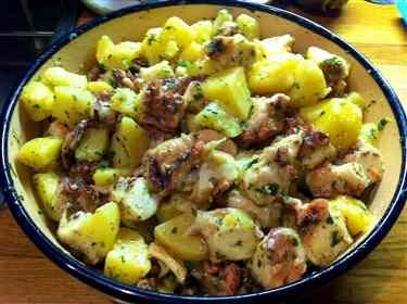 Ricetta: Insalata di polpo con patate e rosmarino