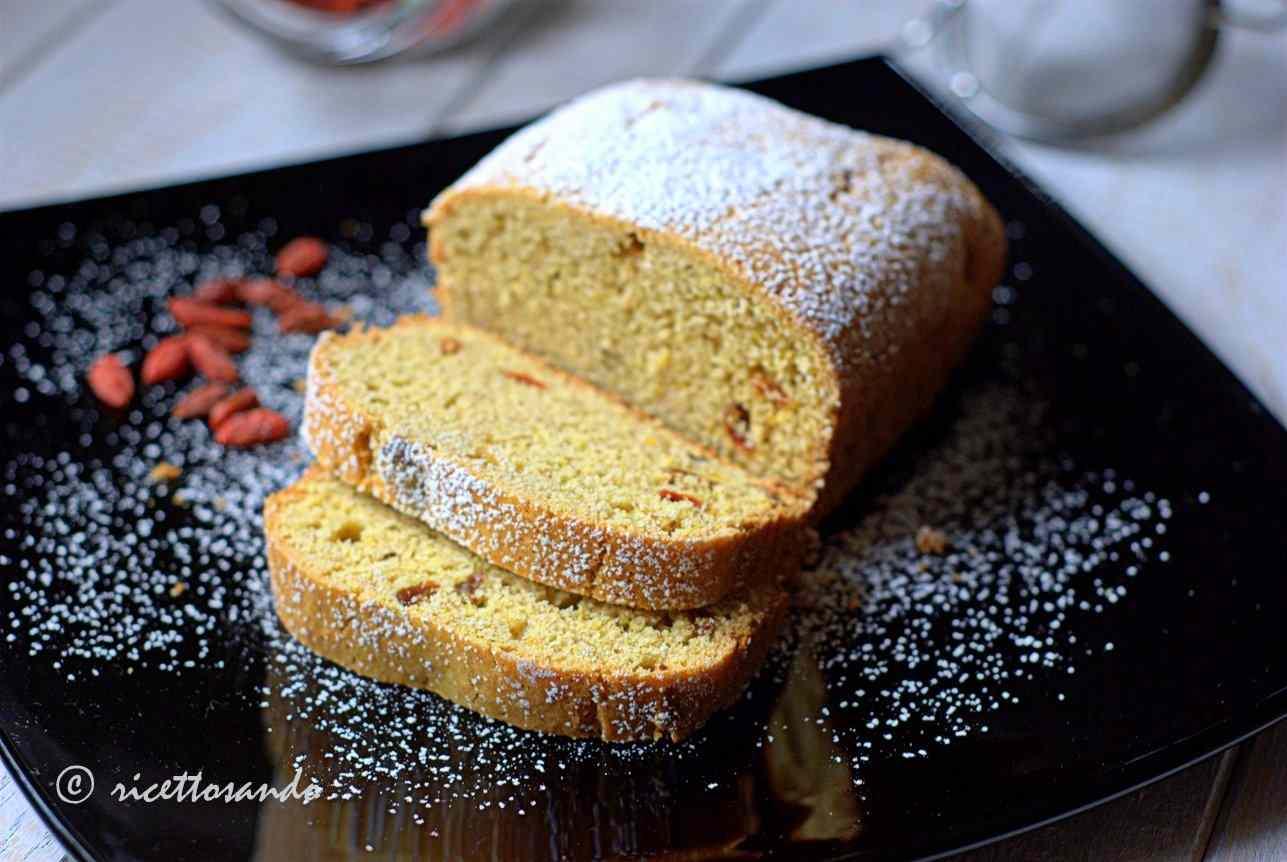Ricetta: Plumcake ai cereali con bacche di goji