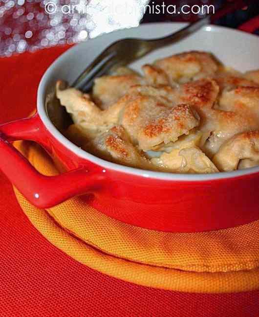 Ricetta: Ravioli di magro al forno al profumo di salvia