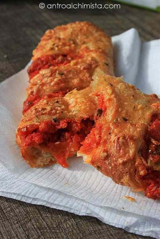 Ricetta: Strudel di pizza