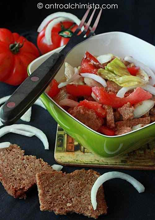 Ricetta: Panzanella con pane di segale integrale