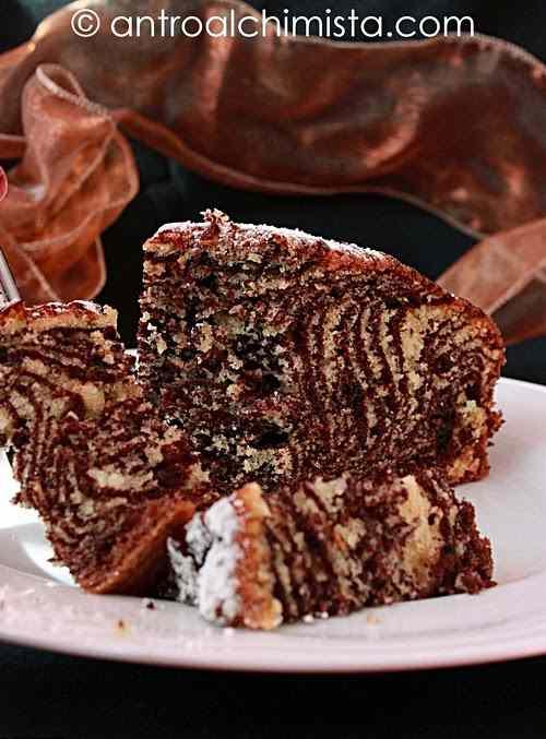 Ricetta: Torta zebrata