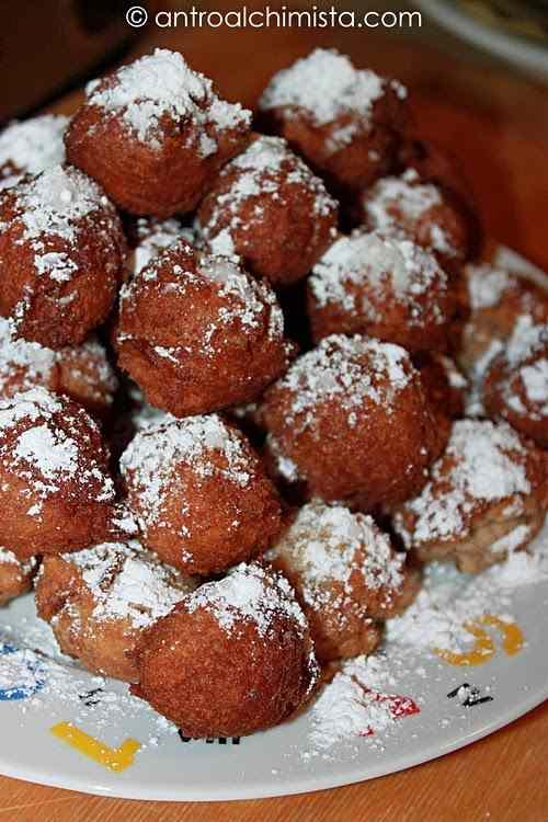 Ricetta: Frittelle di ricotta con farina integrale e cacao
