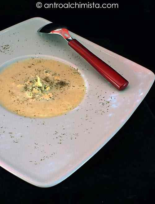 Ricetta: Crema di finocchi e sedano con Roquefort