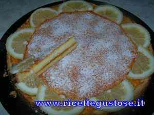 Crostata ricotta e limone