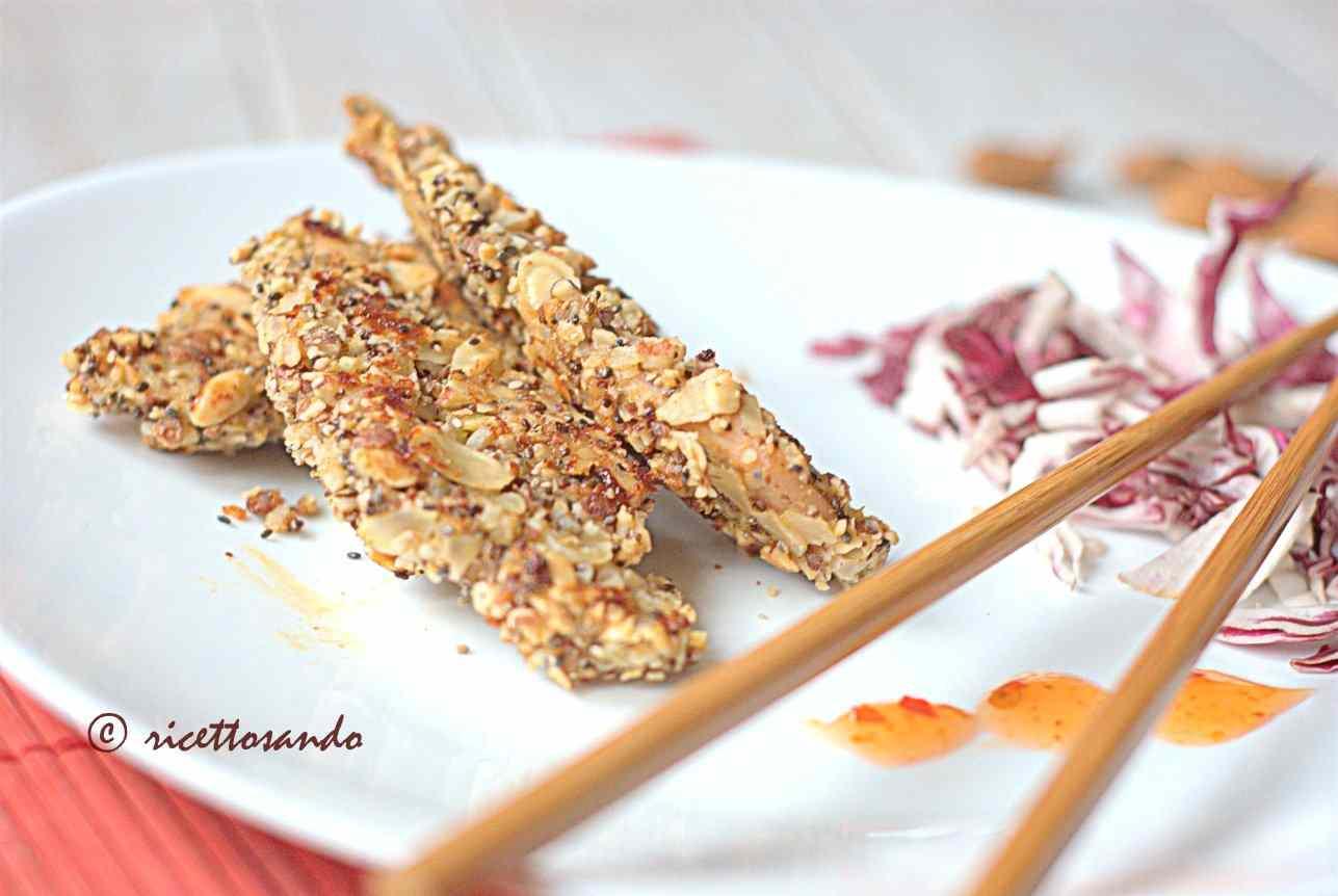 Ricetta: Pollo croccante alle mandorle