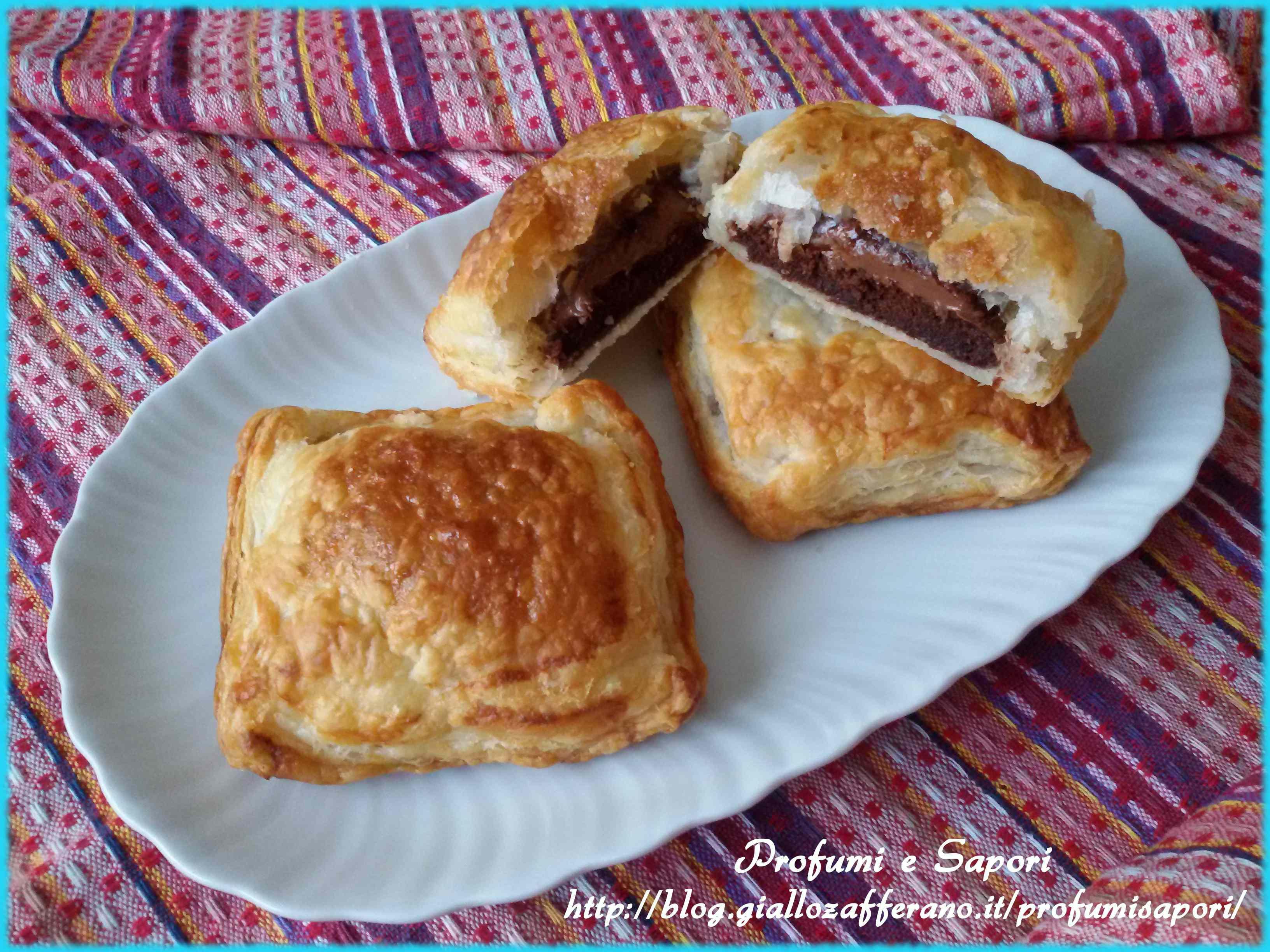 Ricetta: Fagottini alla Nutella e Pan di Stelle