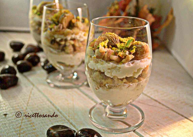 Ricetta: Fantasia di castagne e pistacchi