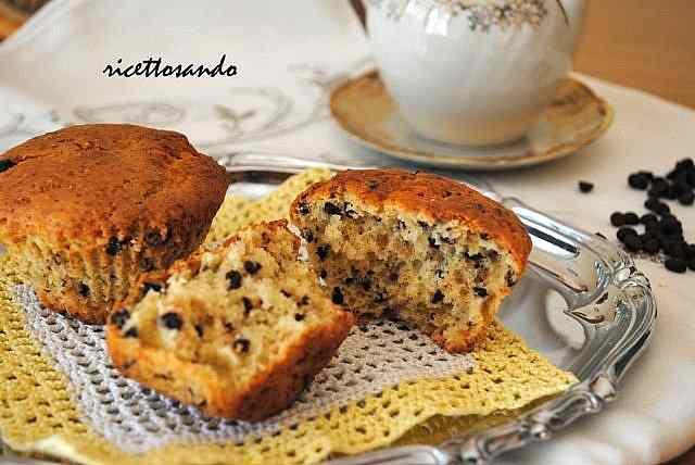 Ricetta: Muffin con pepite di cioccolato
