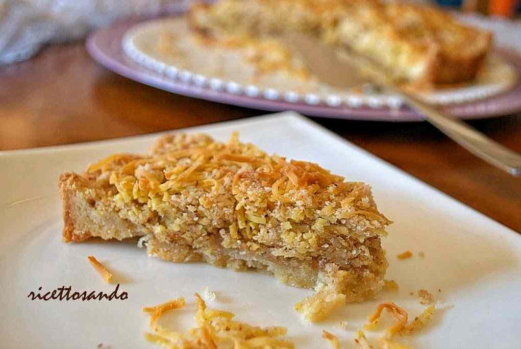 Ricetta: Torta di tagliolini o torta ricciola