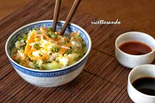 Ricetta: Riso saltato con verdura