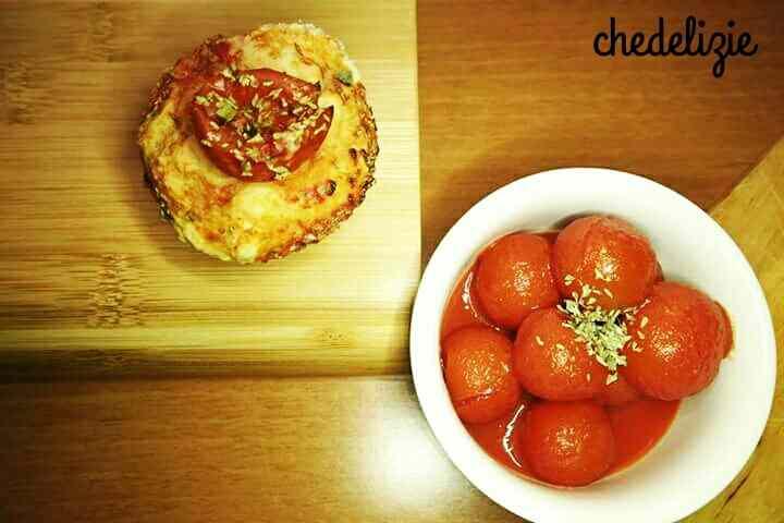 Muffins di focaccia
