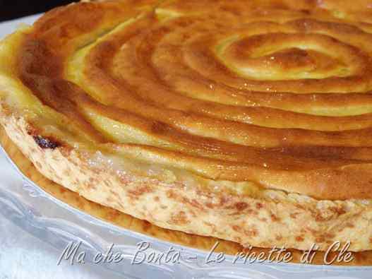 Ricetta: Crostata con composta di pere alla vaniglia