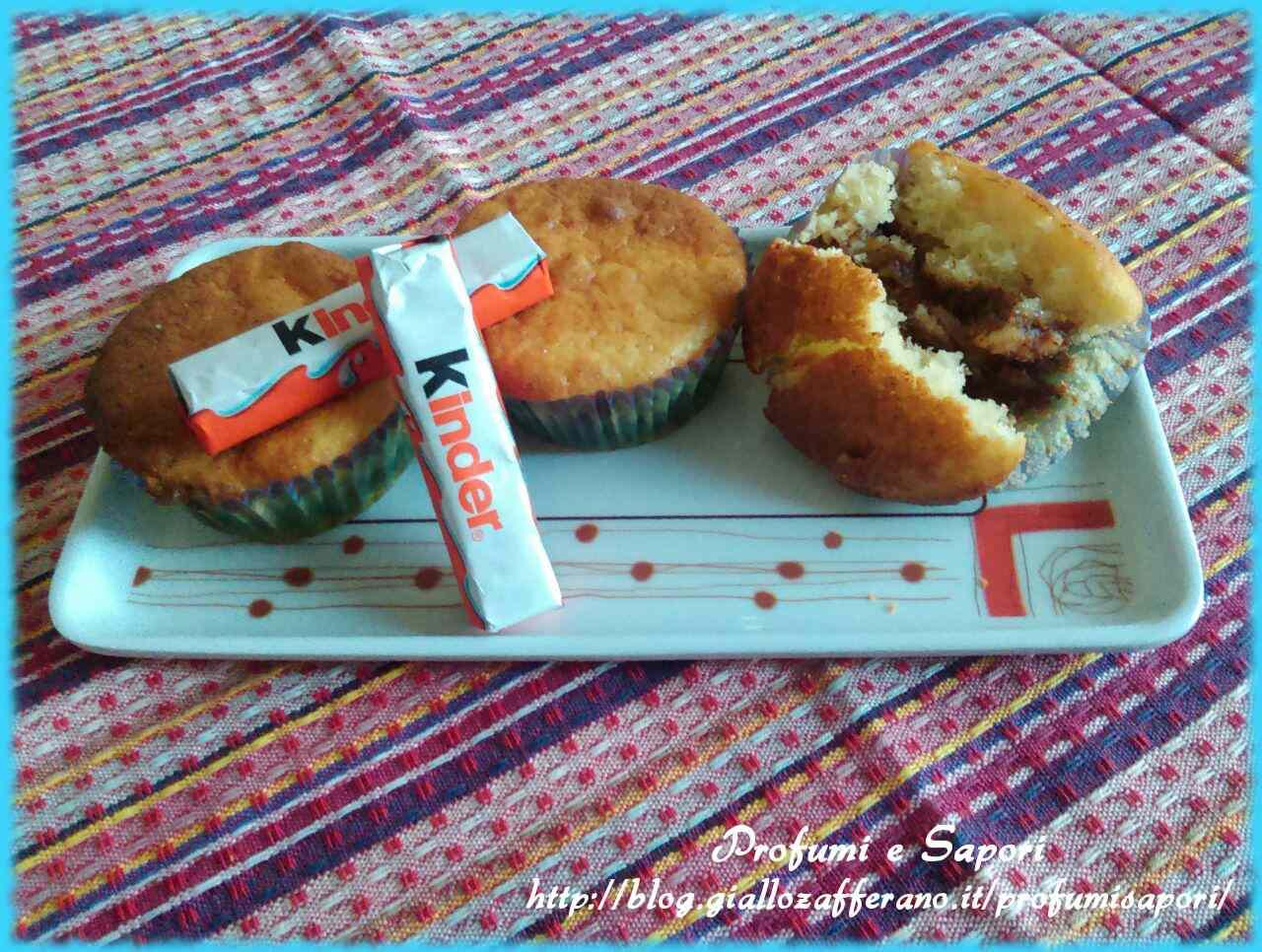 Ricetta: Muffin al cioccolato Kinder