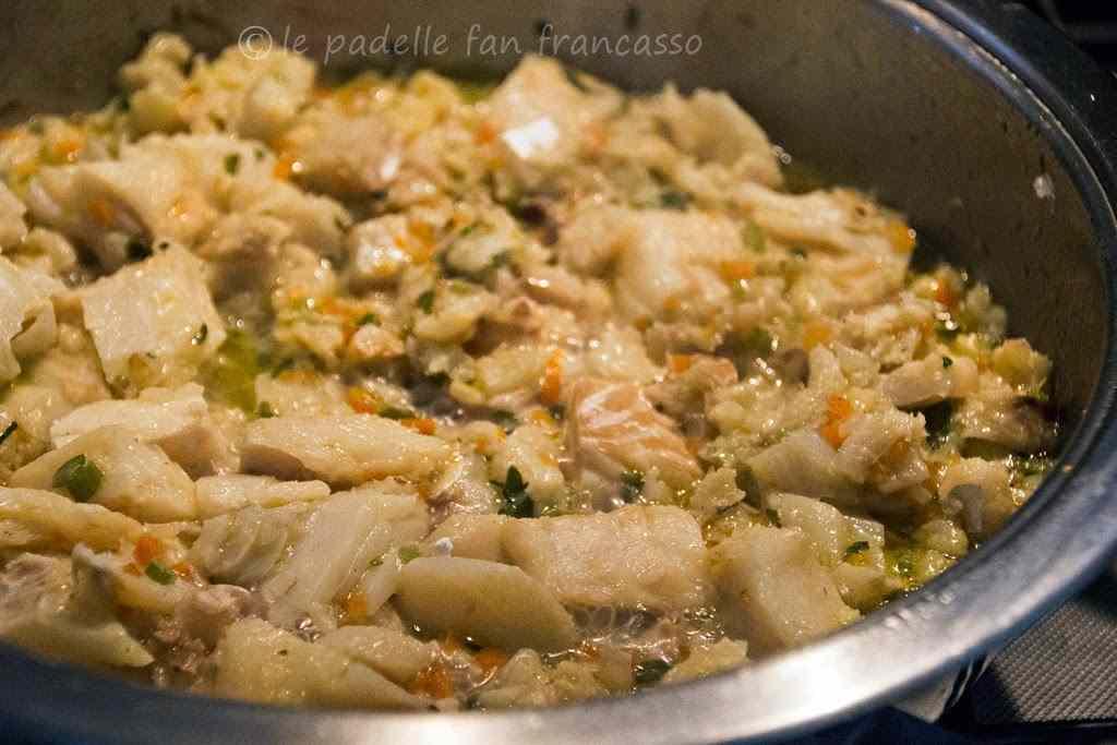 Ricetta: Il baccala in pasta riccia