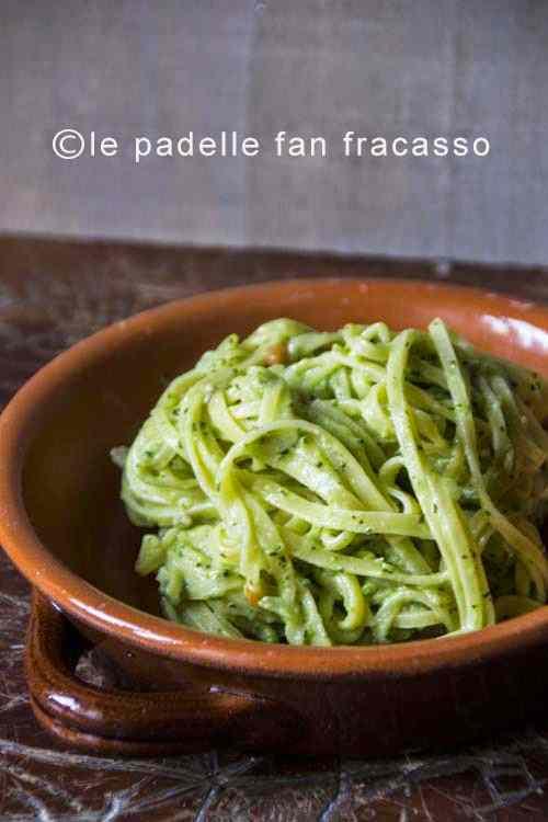 Ricetta: Tagliolini alla crema di broccoletti