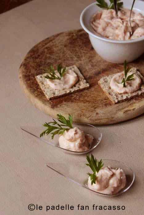 Ricetta: Mousse di salmone affumicato