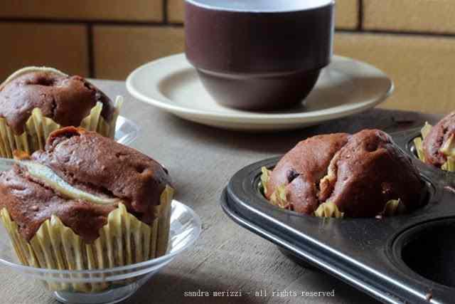 Ricetta: Muffin cioccolato e pere
