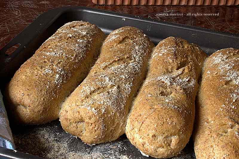 Ricetta: Filoncini di pane integrale