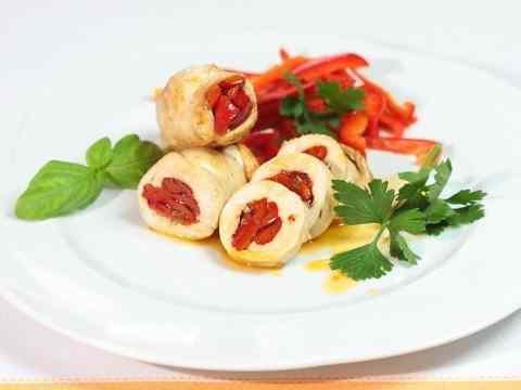 Ricetta: Involtini di pollo al peperone