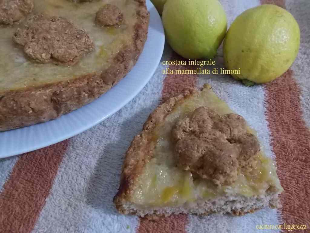 Ricetta: Crostata integrale alla marmellata di limoni