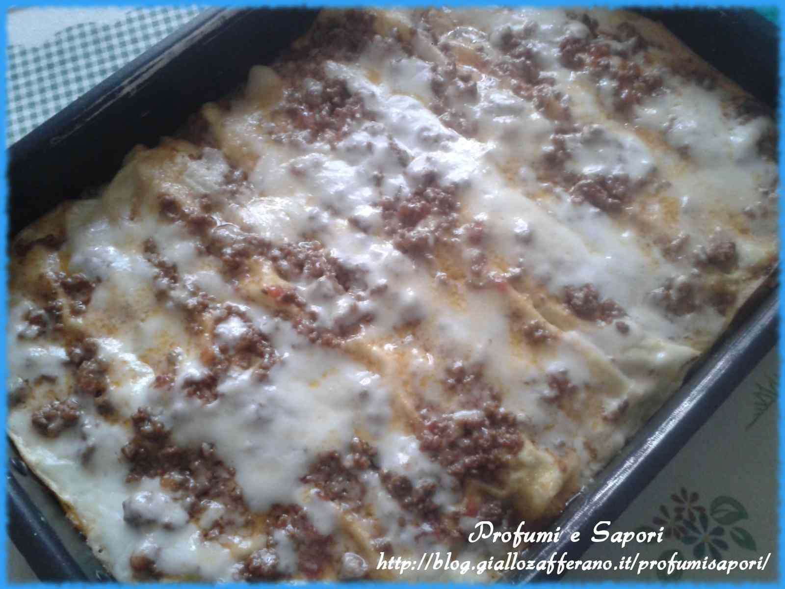 Ricetta: Lasagne alla bolognese