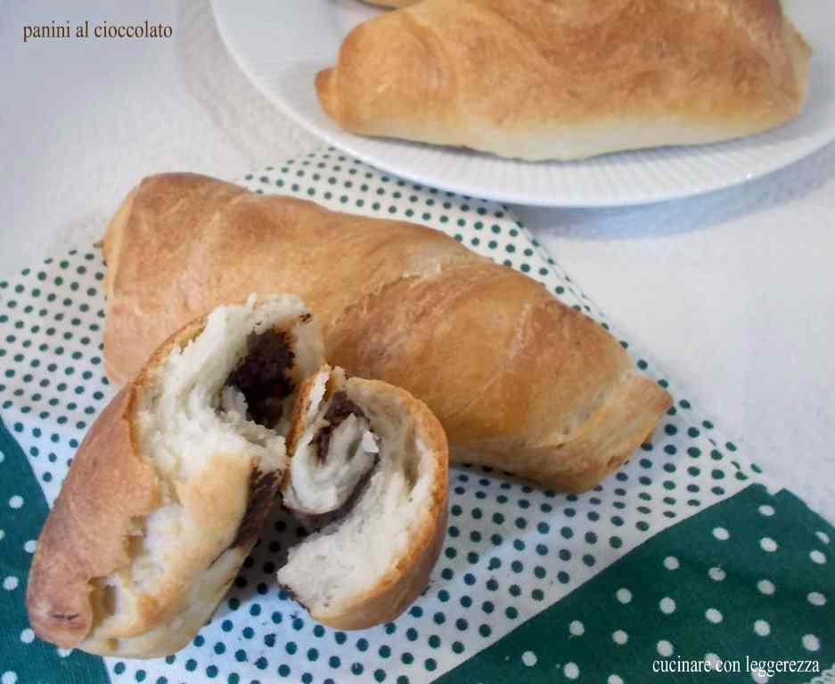 Ricetta: Panini cioccolato