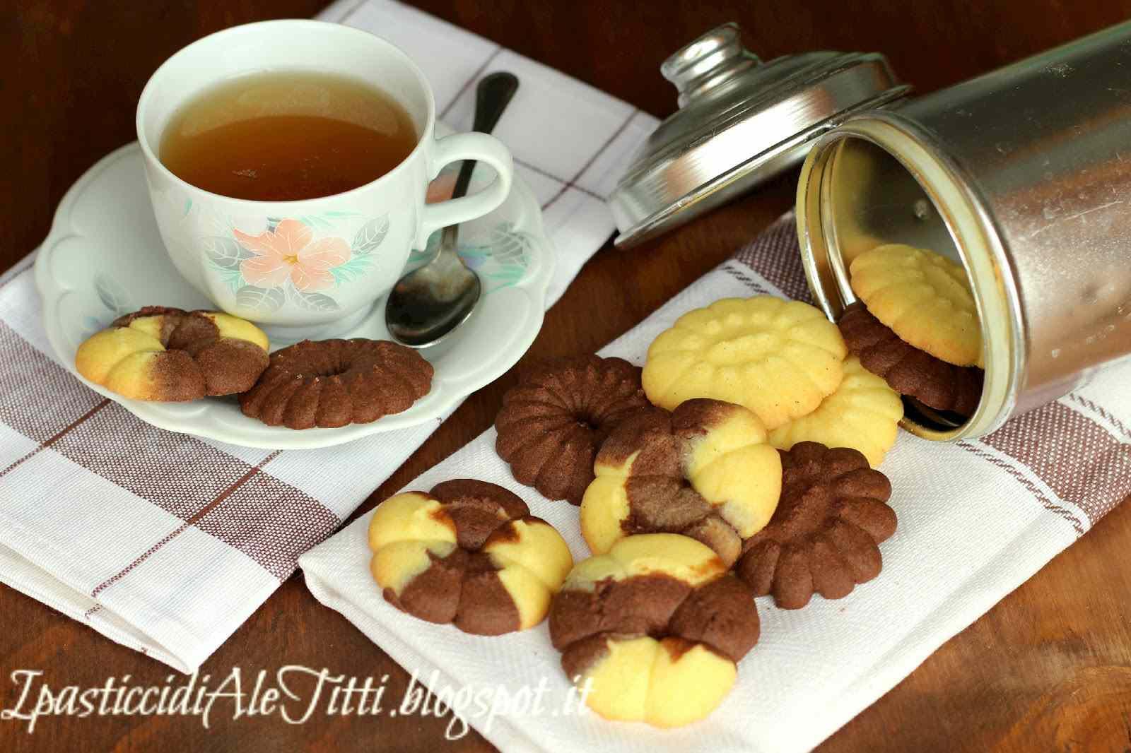 Ricetta: Biscotti alla vaniglia e al cioccolato