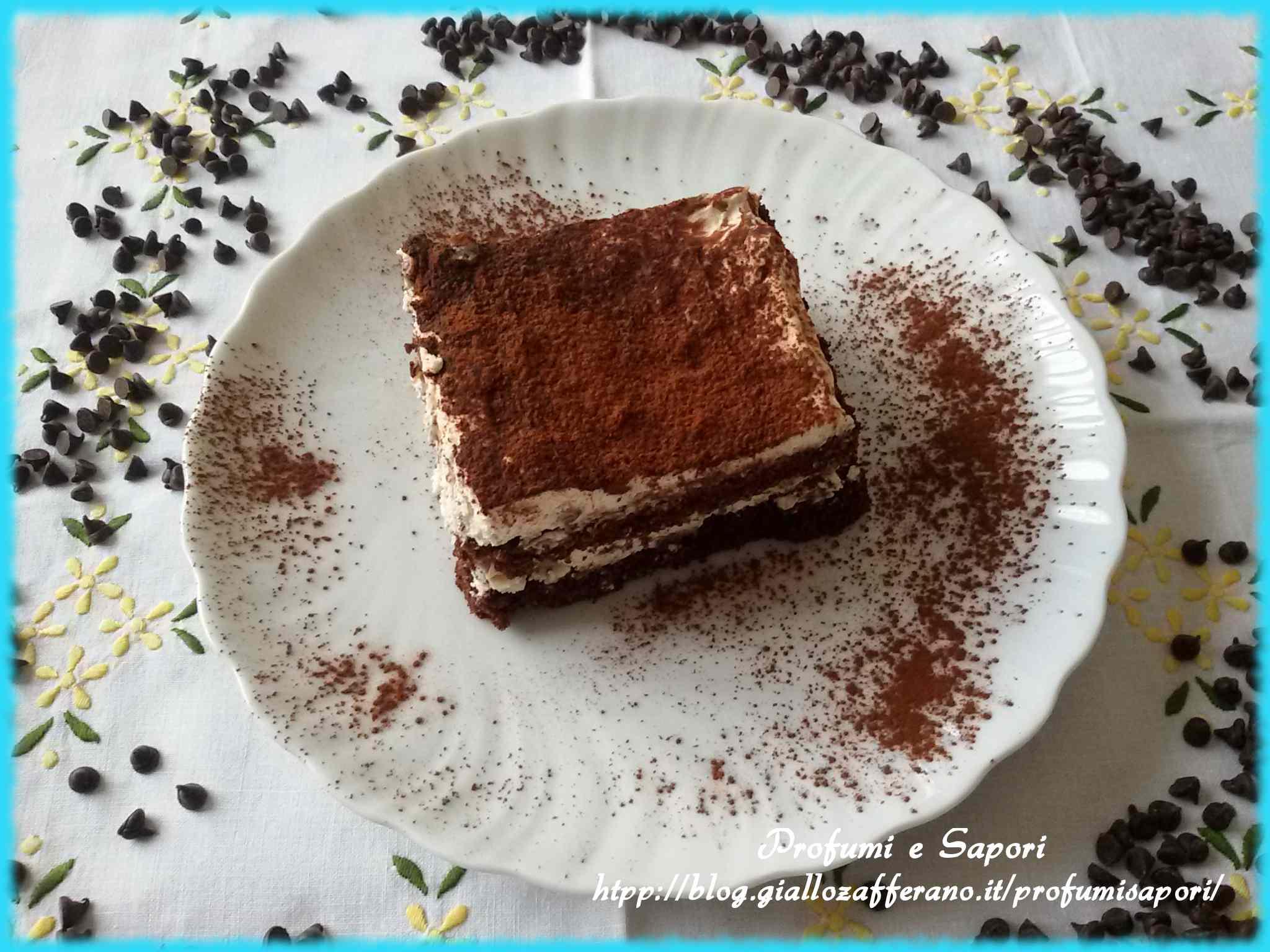 Ricetta: Torta fredda al cioccolato e mascarpone