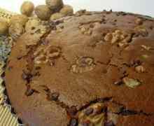 Ricetta: Torta al cioccolato e noci