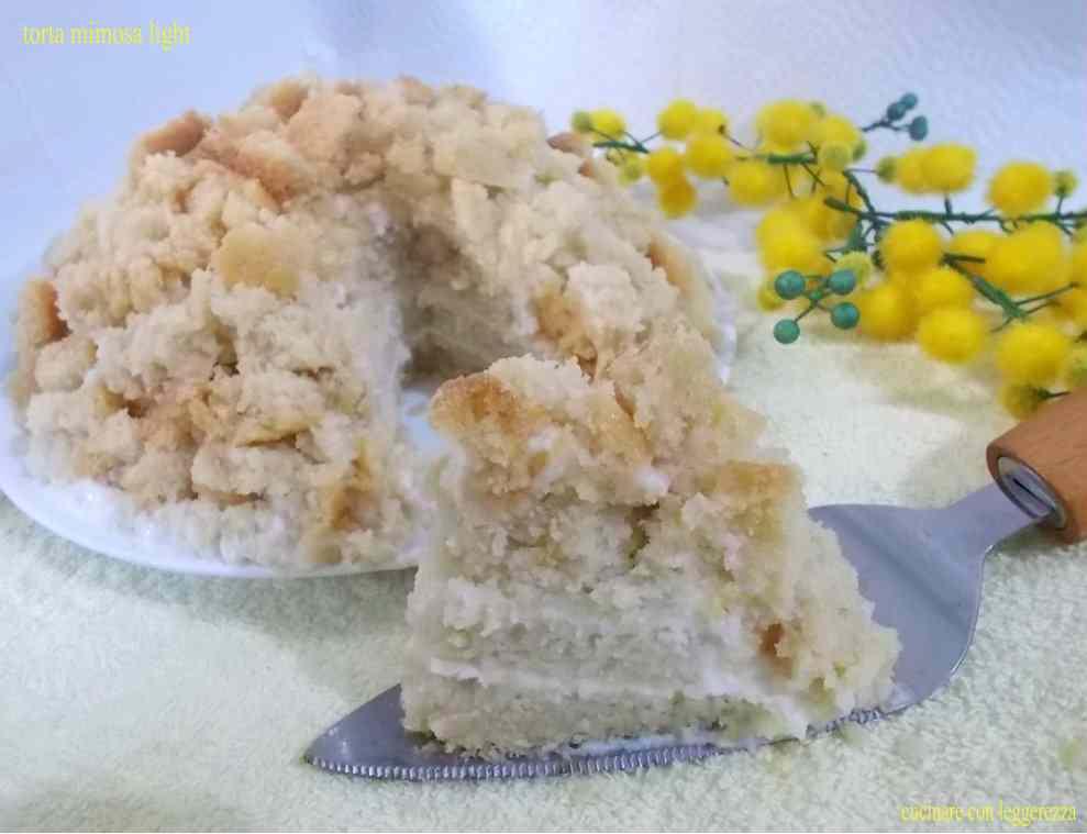Ricetta: Torta mimosa light