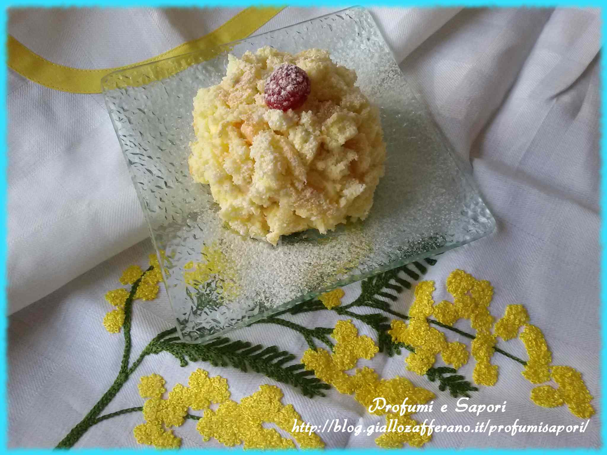 Ricetta: Mini mimosa ai lamponi