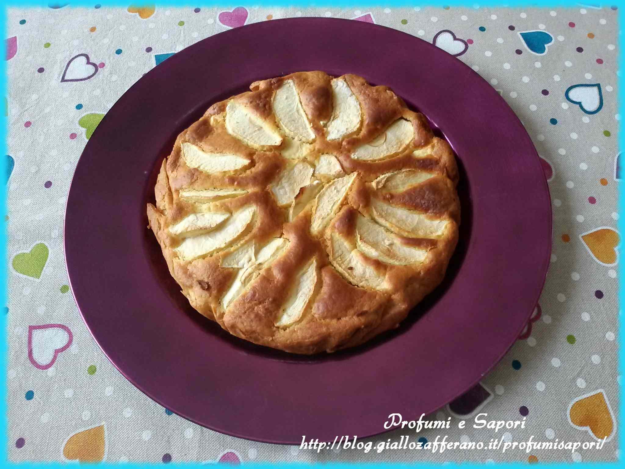 Ricetta: Torta di mele con il fruttosio