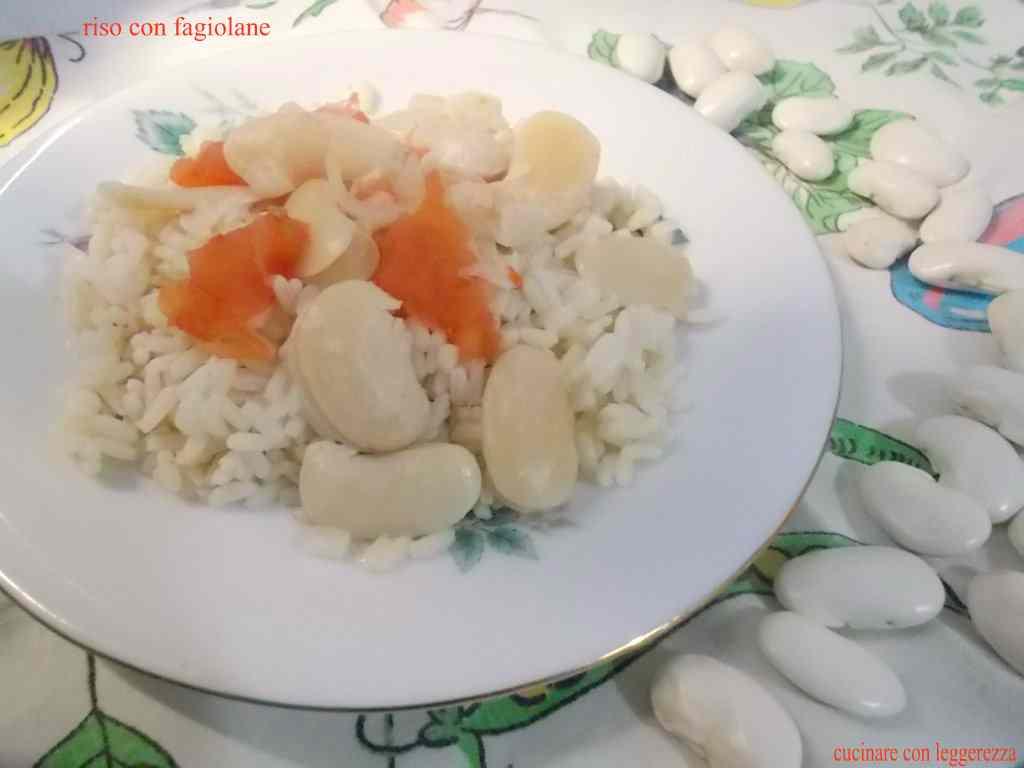 Ricetta: Riso con fagiolane