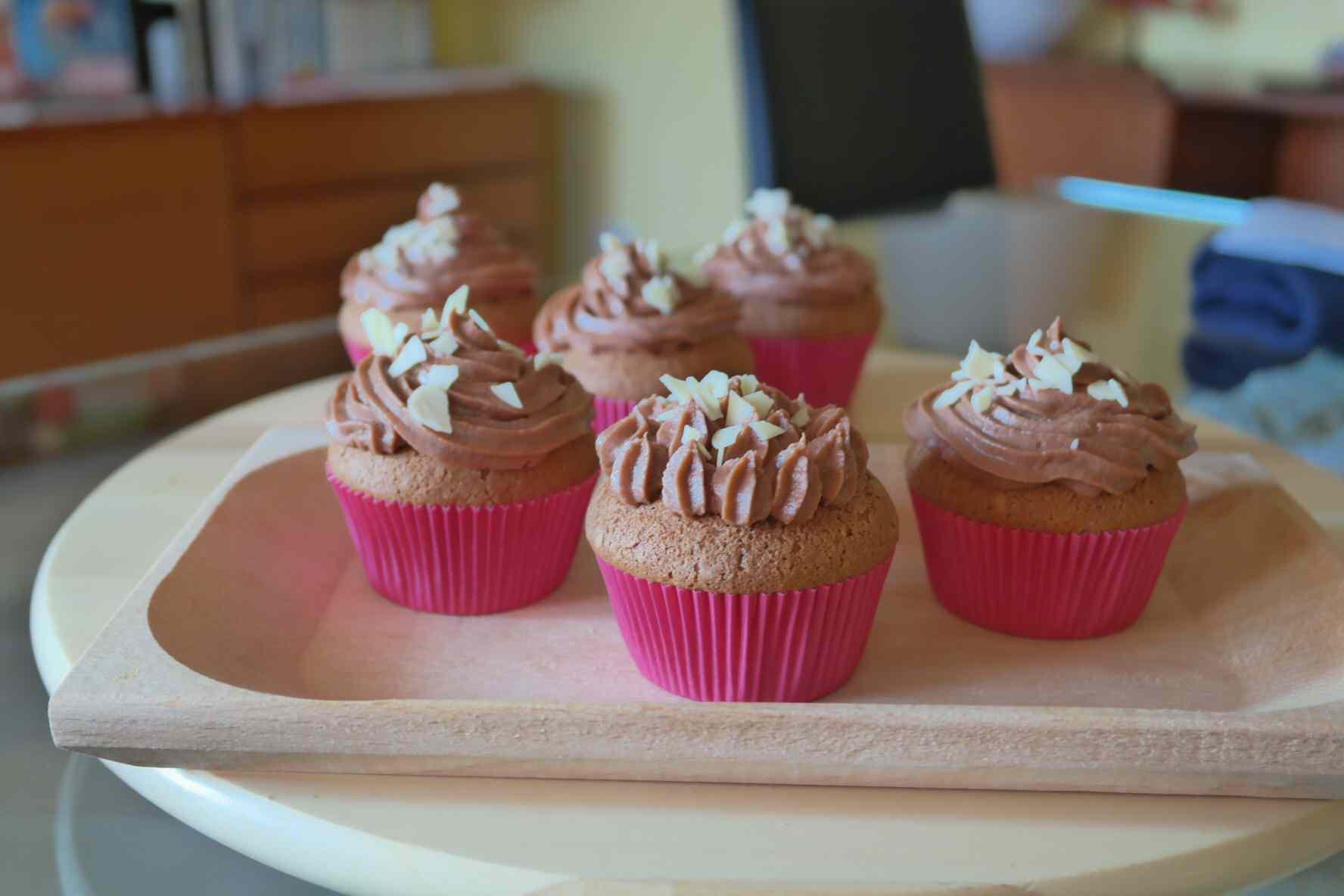 Cupcake nutella e mascarpone