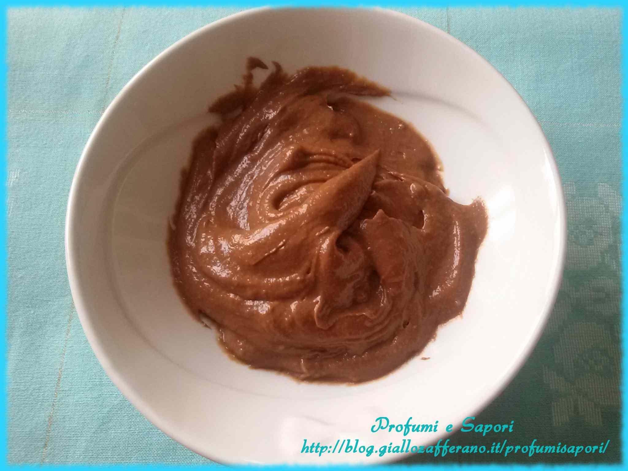Ricetta: Crema pasticcera al cioccolato