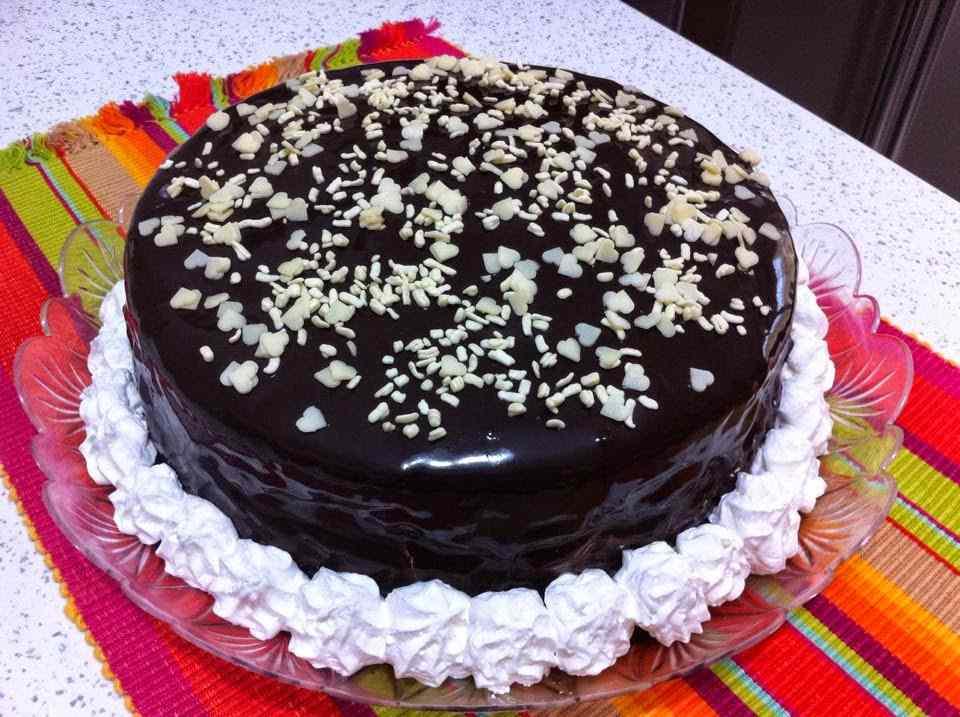Ricetta: Torta al triplo cioccolato