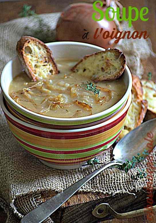 Ricetta: Soupe a l'oignon