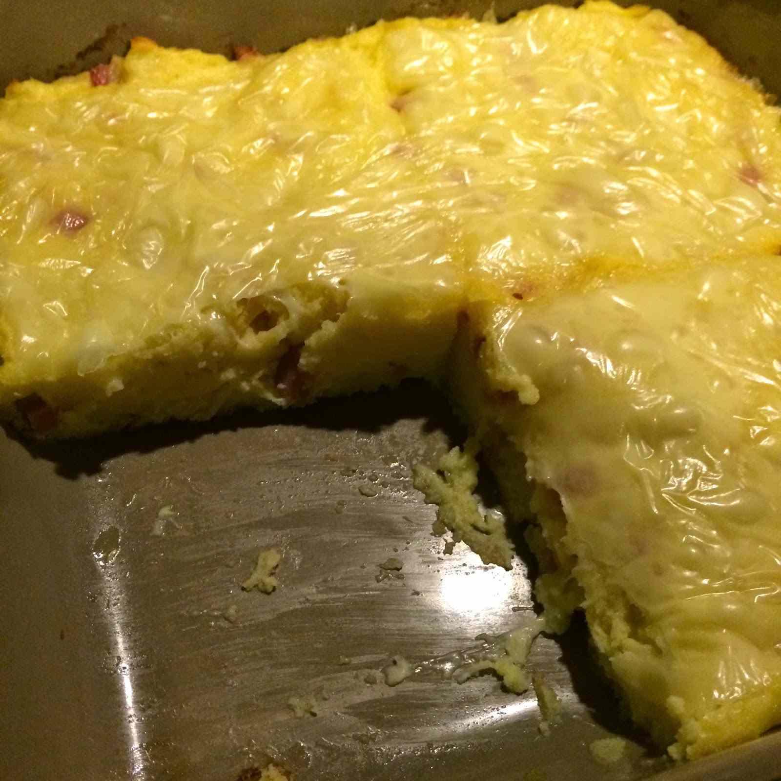 Ricetta: Sformato di patate con edamer e prosciutto cotto